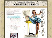 bombshell Website of the Month: BombshellStamps.com