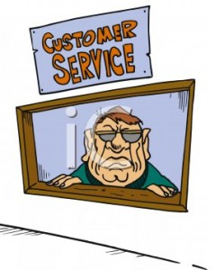 miserable 249x300 Thoughts on Customer Service with Shep Hyken   Part 1