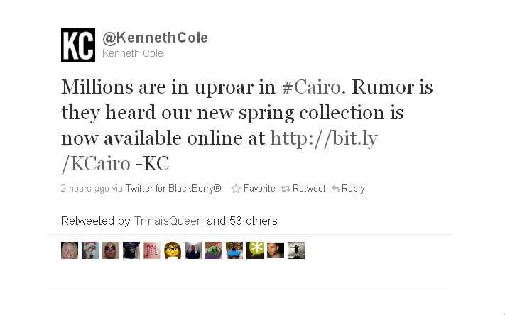 kennethcolefail1 How Kenneth Cole Lost Thousands of Customers in 1 Easy Step